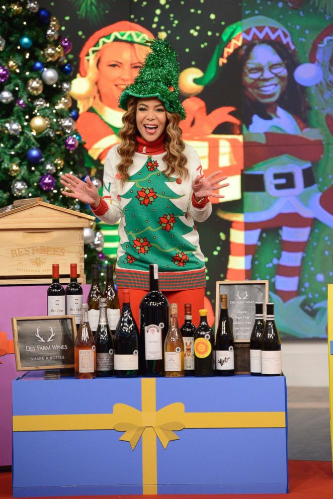 PHOTO: The View celebrates the holidays, Dec. 14, 2018.