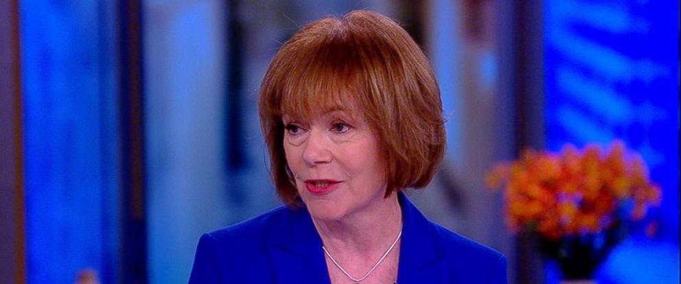 """PHOTO: Sen. Tina Smith (Minn.) on """"The View,"""" March 16, 2018."""