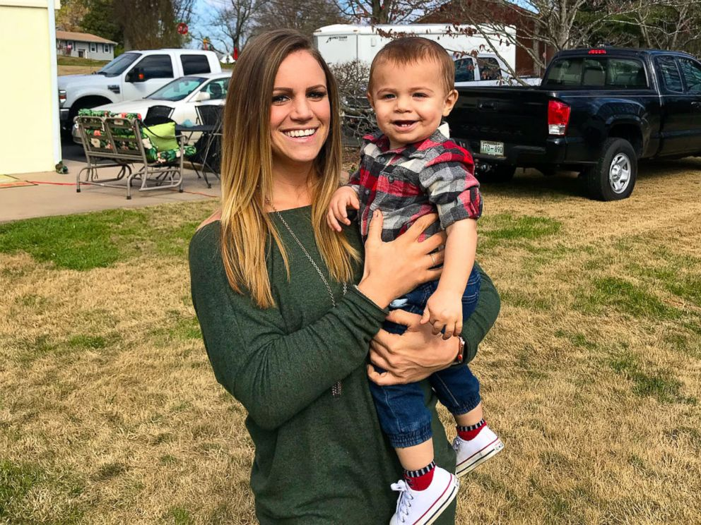 PHOTO: Sarah Van Sickle and her son, Koa.