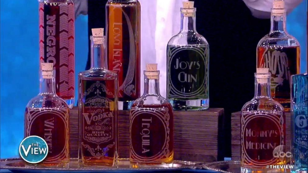 PHOTO: Whoopi Goldberg shares her favorite products of 2018 on ABCs The View.